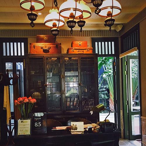 曼谷我们文艺青年都是去这样的酒店、餐厅、酒吧的