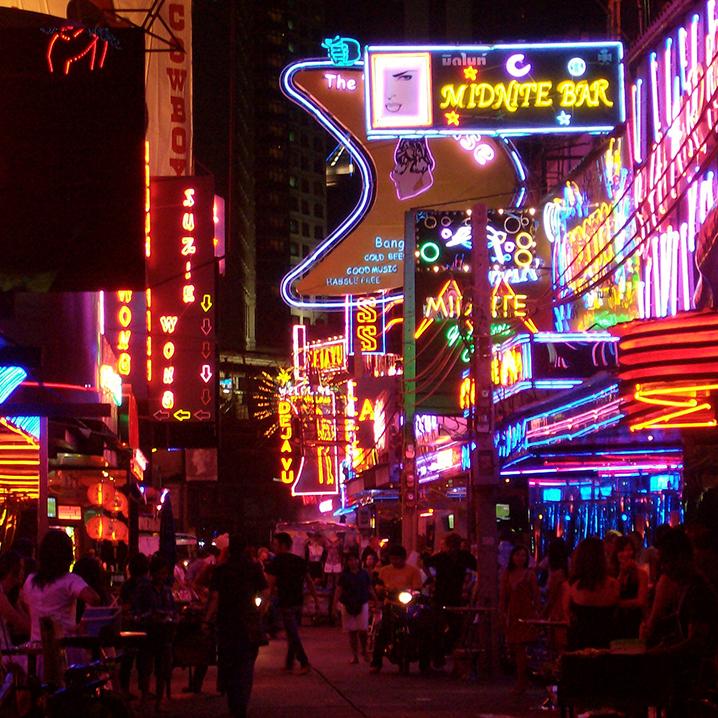 曼谷日本街Soi Thaniya,颜值不一般
