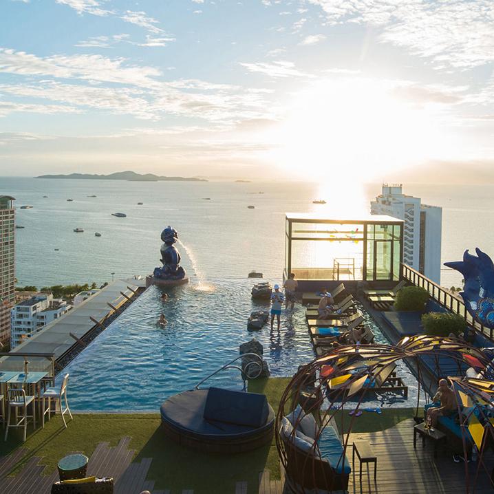 曼谷无边泳池酒店入住攻略