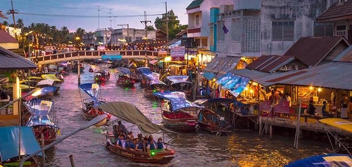 曼谷市场游荡指南