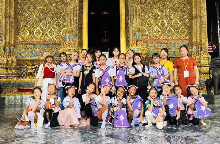 寒暑假泰国国际学校带娃游学