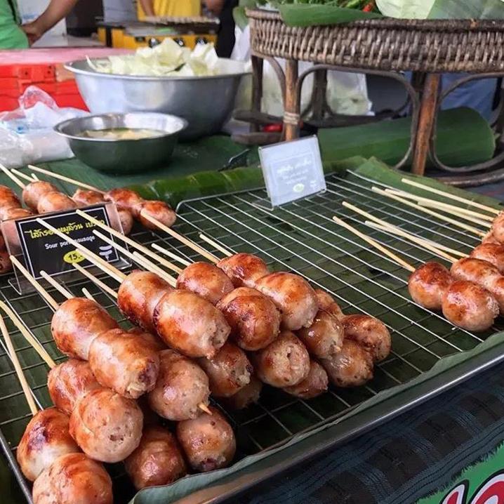 每次逛泰国夜市必吃的烧烤串串儿