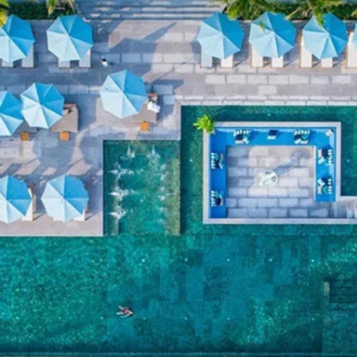 苏梅岛塞勒斯海滨酒店,小红书网红,随手一拍就是大片!
