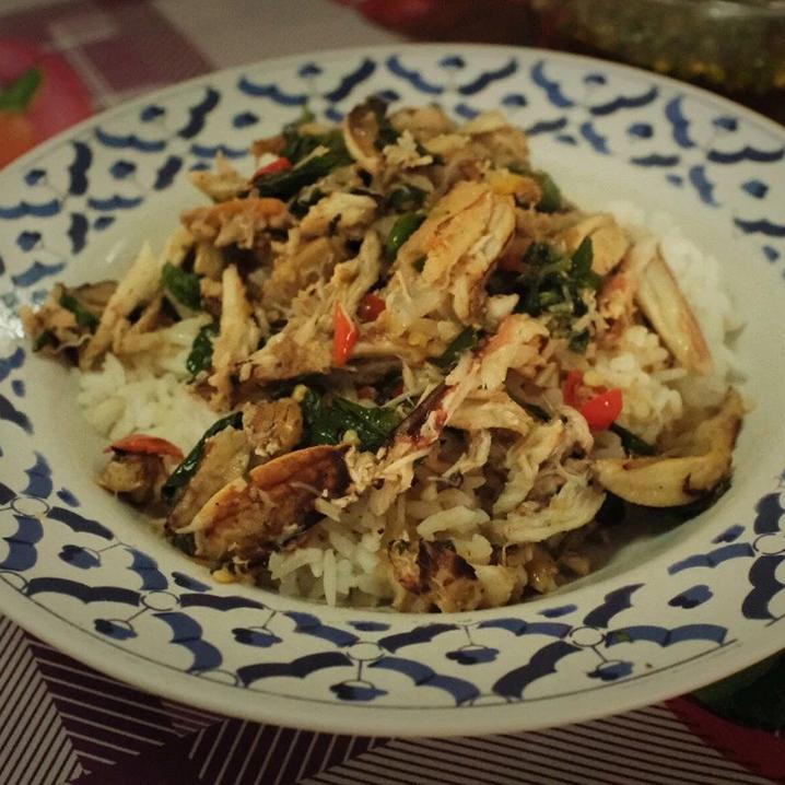 为了这碗蟹钳肉,请你再回一次泰国春武里!