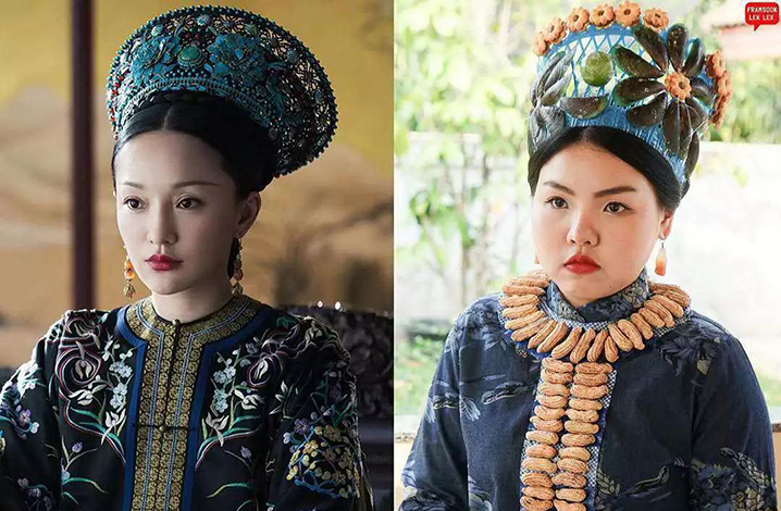 """泰国网红,当""""魏璎珞""""和""""如懿""""变成同一个泰国女人时"""