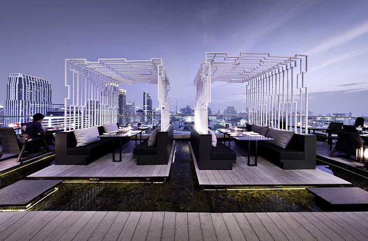 曼谷ZENSE高空酒吧