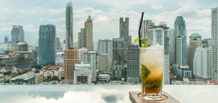 曼谷ZENSE高空酒吧,浴火重生的全景餐厅