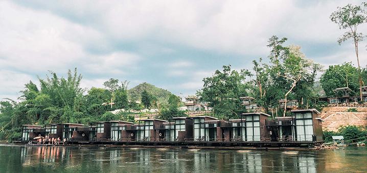 有摇篮的几家泰国酒店