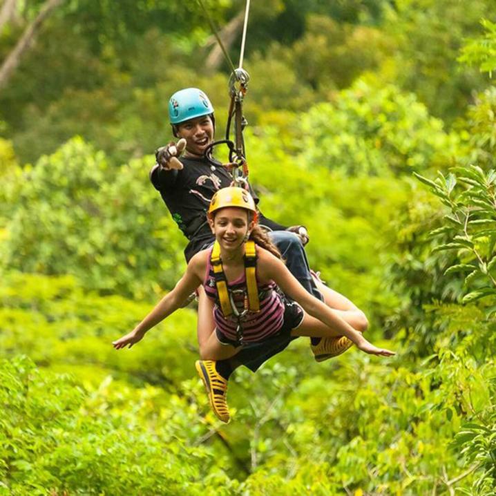 泰国丛林飞跃攻略