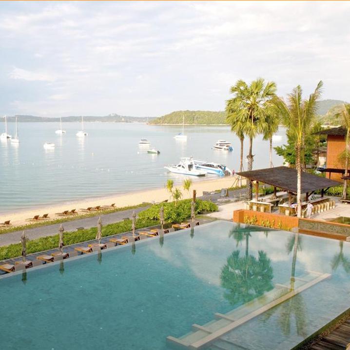 苏梅小记旅游小记之波普托海滩和汉沙温泉度假酒店