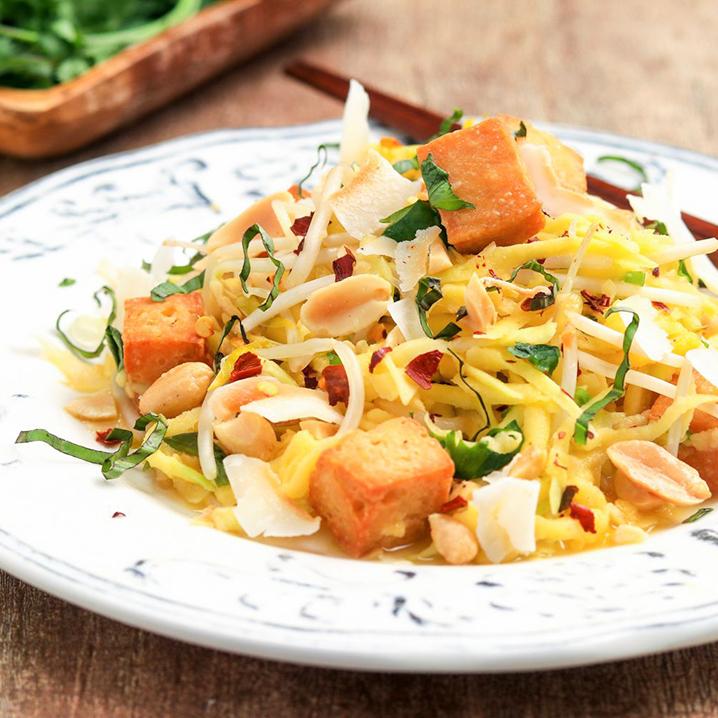 泰国芒果的N种吃法,总有一种是你的菜