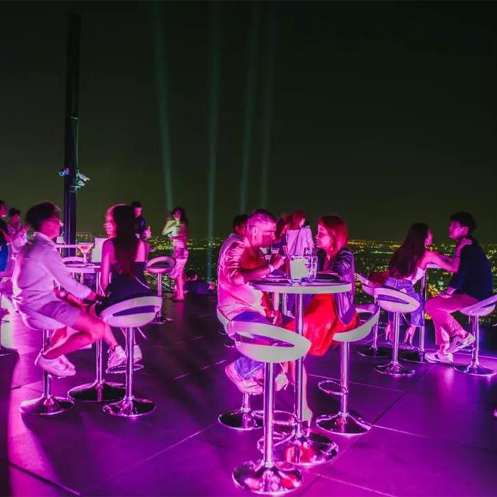 """""""五一""""去哪浪?曼谷最高的屋顶酒吧等你来品鉴!"""