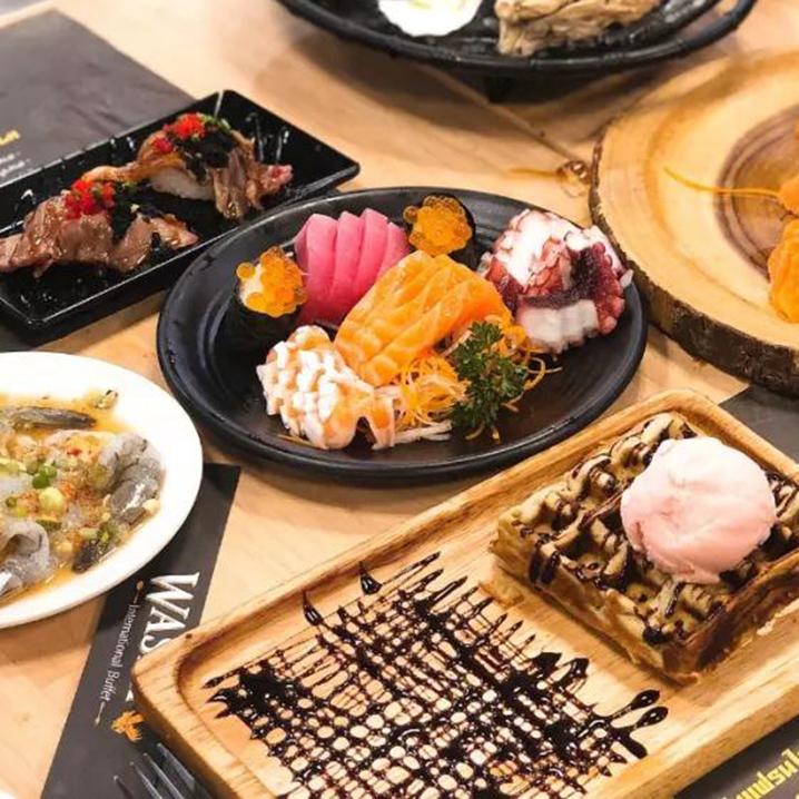 芭提雅WASHI International Buffet,用100多块吃到3000+高端海鲜自助