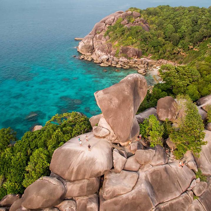 泰国斯米兰(Similan Archipelago)一日游