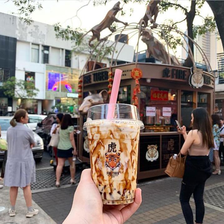 泰国最火的几款网红饮料,发朋友圈好美安排上