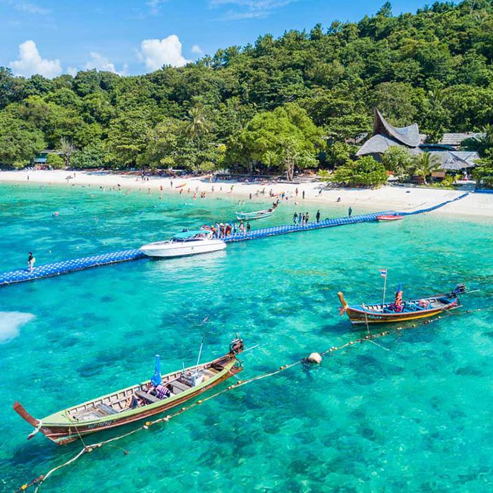 泰国皇帝岛(Racha)一日游,最佳浮潜之地