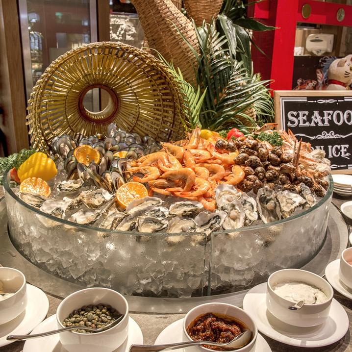 曼谷Twenty Seven Bites Brasserie国际自助餐餐厅,汇聚天下美食