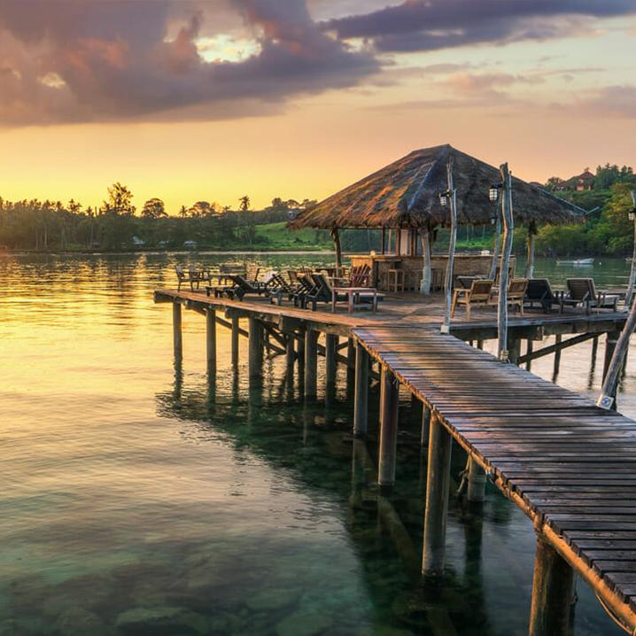 只想身陷泰国沽岛,静待天荒地老!