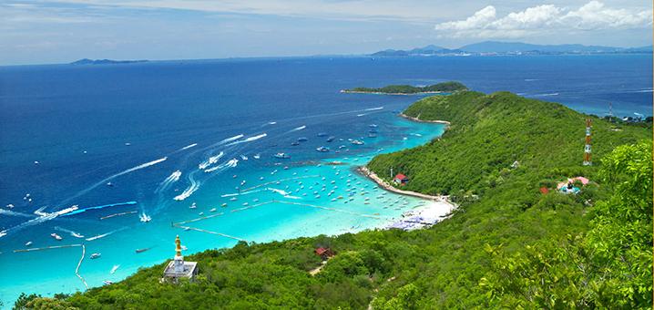 泰国五一去哪里?景美人少的西昌岛了解一下