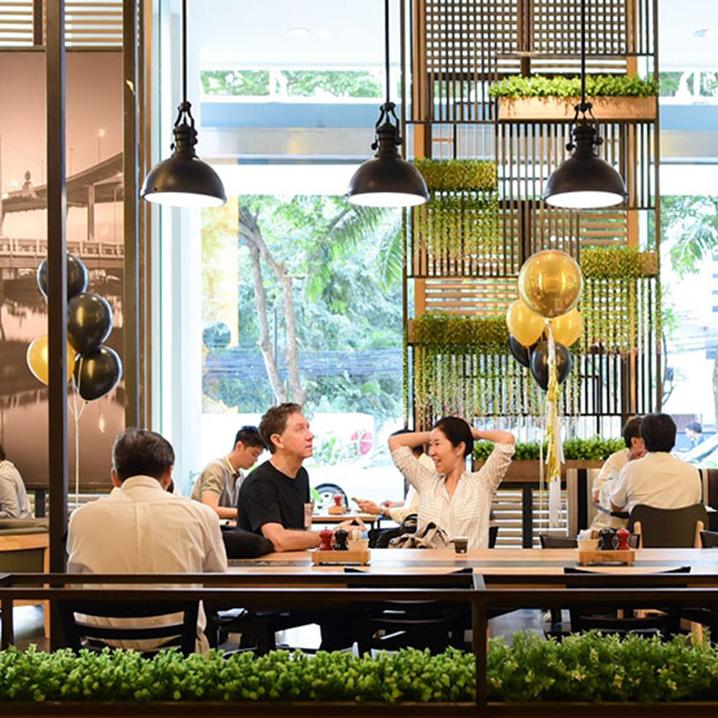 泰国THE COFFEE CLUB澳洲咖啡厅,从早到晚承包你的味蕾