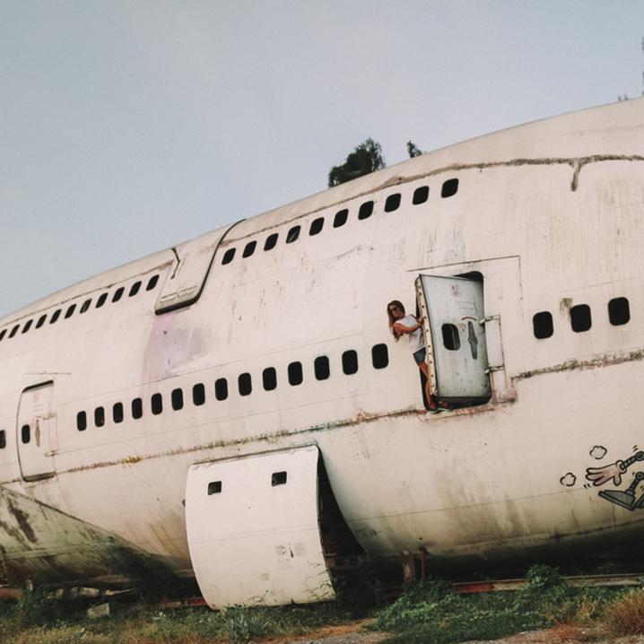 曼谷飞机墓地、集市、餐厅打卡,一架飞机死后的命运