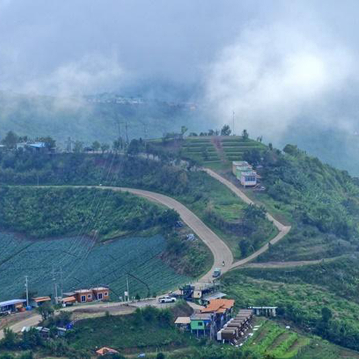 碧差汶府最高的山Rai Rim Pha Thap Boek,看仙气飘飘的雾海