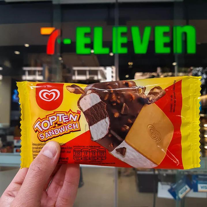 泰国7-11新品美食推荐,吃零食也得与时俱进
