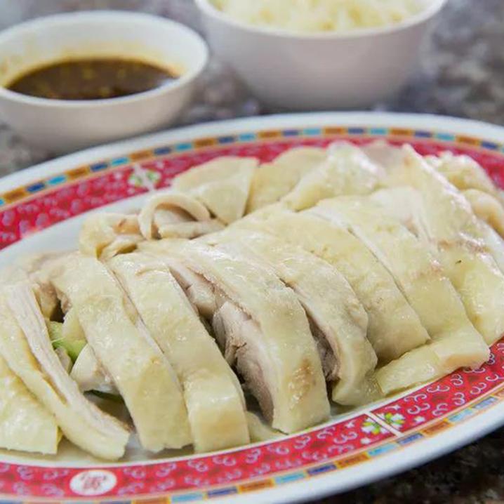 曼谷海南鸡饭,最好吃的鸡油饭一碟最是满足