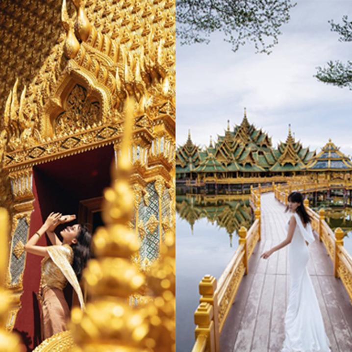 曼谷暹罗古城七十二府(The Ancient City),带你一天游遍泰国