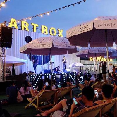 泰国最文艺的快闪夜市!ARTBOX 货柜市集常驻曼谷了!