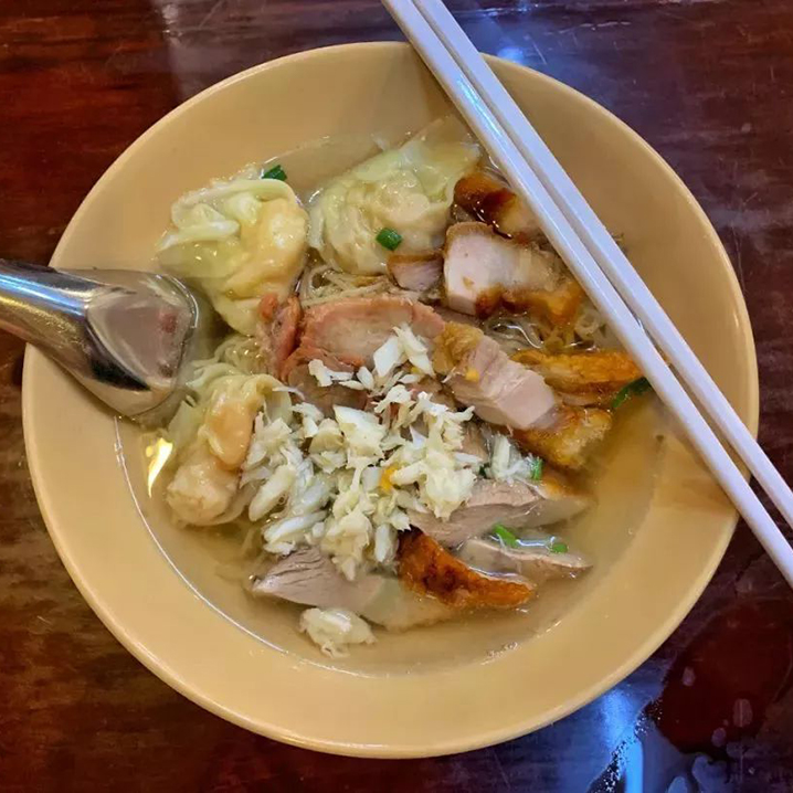 曼谷街头美食系列之泰国本土的深夜食堂