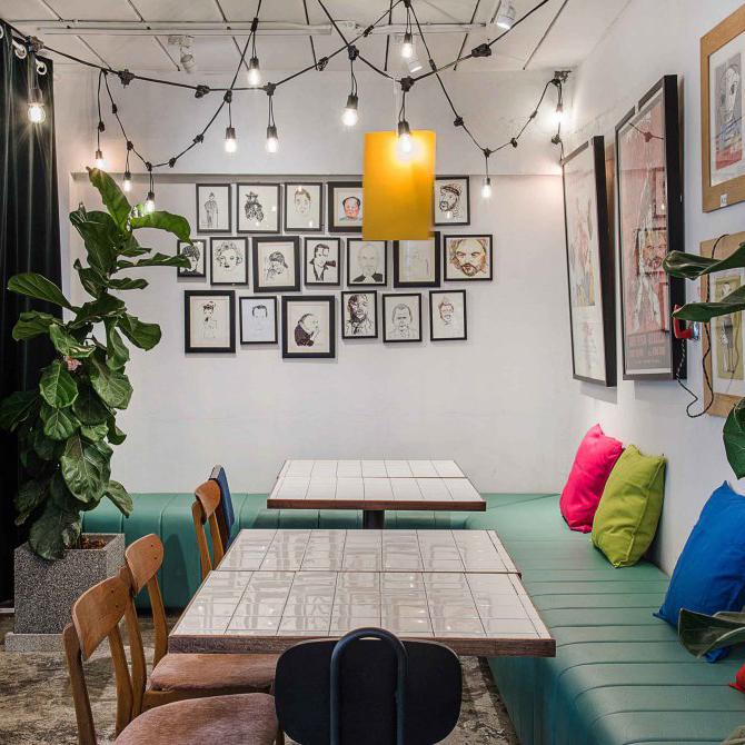 曼谷雅致艺术感餐厅Sundays,让美味融入艺术里