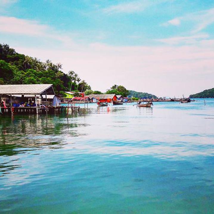 泰国长岛,带你看一场落日余晖下的电影