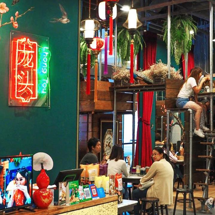 在别人头上用餐的曼谷龙头咖啡馆Lhong Tou Cafe