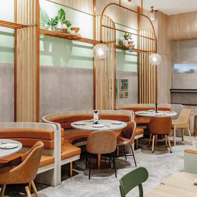 曼谷LET'S EAT Deliciously餐厅,体验喧嚣闹市里的慢生活
