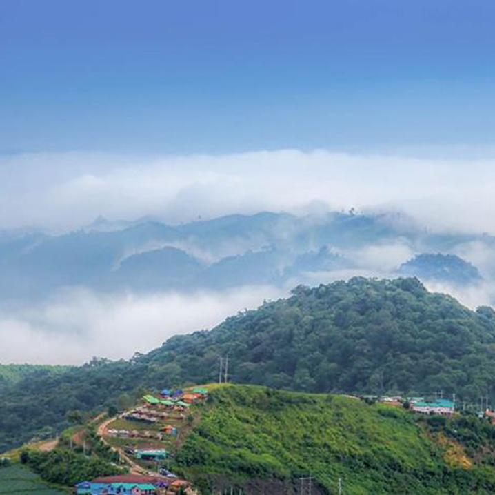 泰北碧差汶府Khao Kho县|云海与瀑布,寺庙与美景