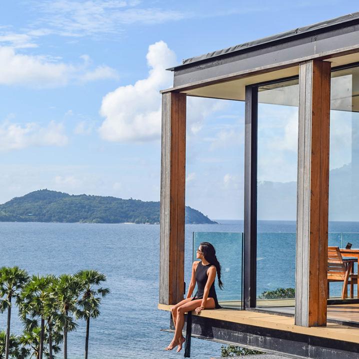 普吉岛酒店|开窗就是无敌海景+整片沙滩,美到不想睡觉