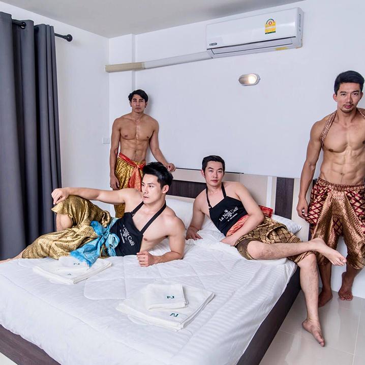 泰国猛男餐厅升级plus,有猛男服务的酒店你敢睡不敢睡?