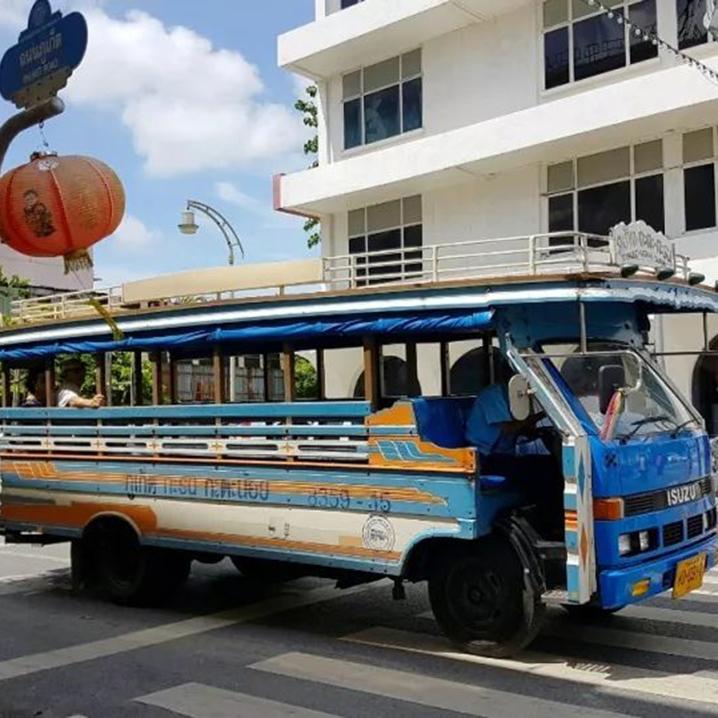 泰国各地双条车最全攻略,体验一把泰式火三轮的赶脚~