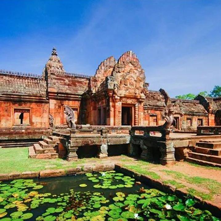 佛国   清迈周边绝不能错过的三大高棉古寺