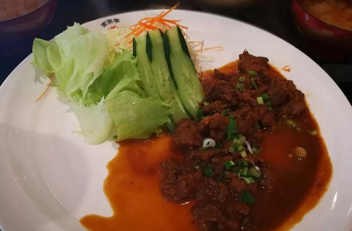 清迈长康路家族亭日本料理,纳豆饺子什么味儿你吃过吗?