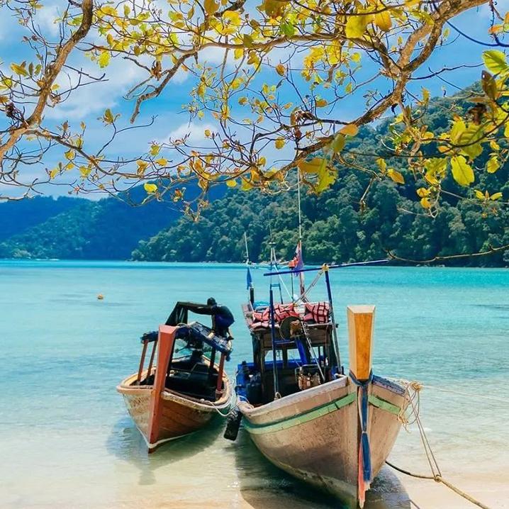 除斯米兰外,这些绝美的泰国海岛即将闭岛10月再会