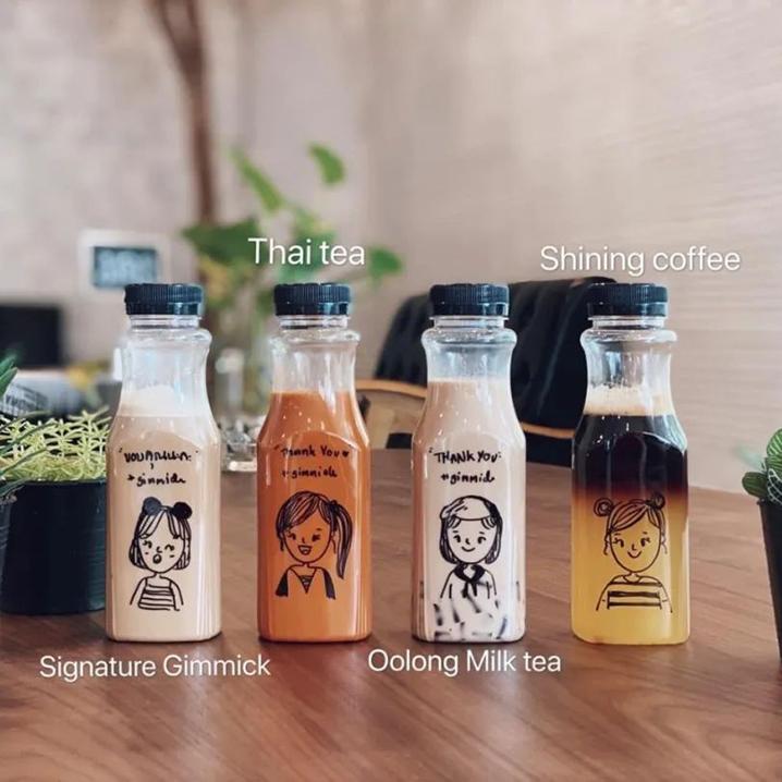 在曼谷不会画漫画的不是好咖啡师,Gimmick Cafe & Restaurant